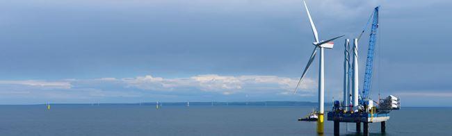 Welsh wind farm Gwynt y Môr