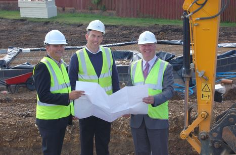 Work gets underway on Devon housing development
