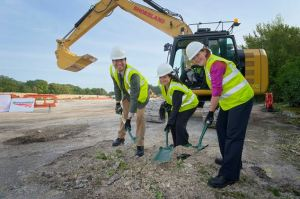 Work starts on new railway centre in Basingstoke