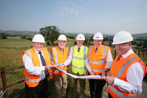 Work starts to build new affordable homes in Kendal
