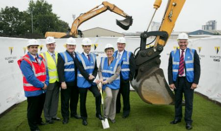 Ministers kick off construction of new £45m Cardiff College