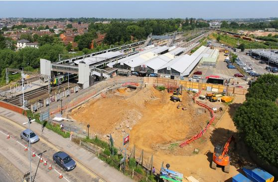 Northampton Station to get a Crane for Christmas