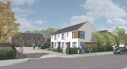 Lovell gets £4.4m Salford housing scheme