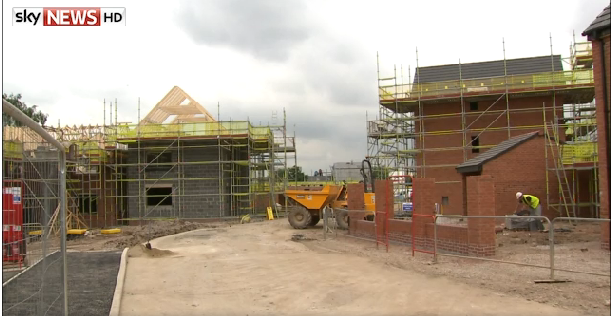 Experts have told Sky News that thousands of workers need to be recruited and trained in order to meet intense demand for new housing