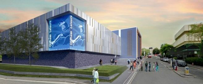 Willmott Dixon given the go-ahead to £15m Oldham sports centre 1
