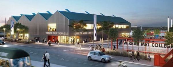 College campus on Wirral Waters Enterprise Zone gets the go-ahead