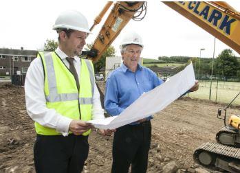 Work starts on groundbreaking community development