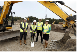 Building work at  Northshore Innovation Centre  gets underway