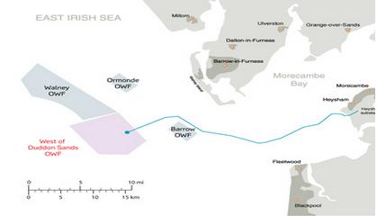 Edward Davey opens major offshore wind farm
