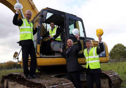 Work starts on site at new £3m global HQ in Telford