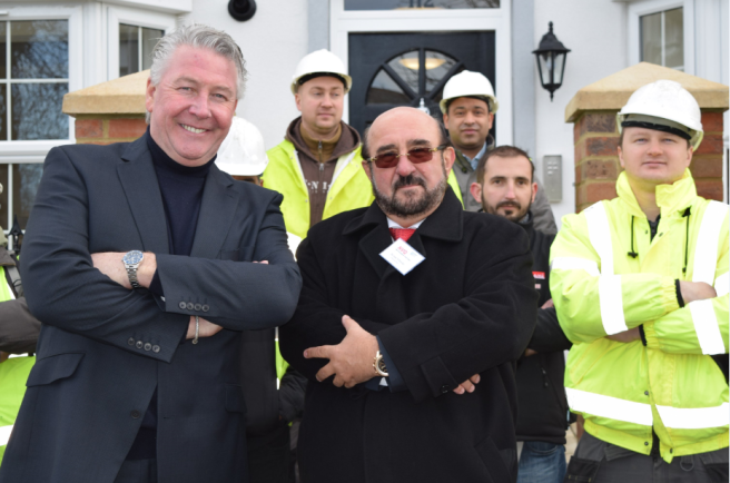Apprentices rebuild town's historic buildings and boost growth