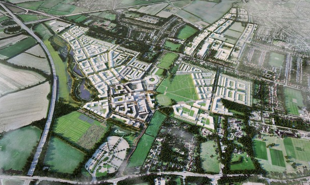 House builders get £40m Cambridge Uni new town deal