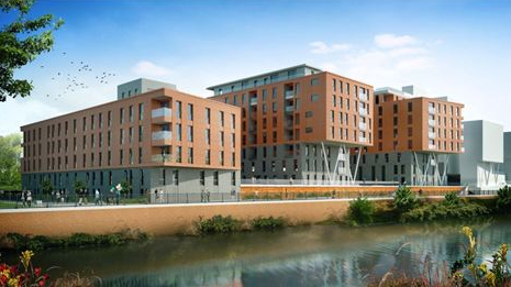 Plans for £75m Salford residential scheme unveiled