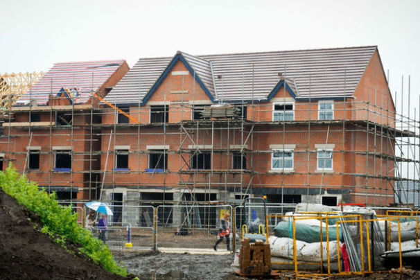 House building continues to climb