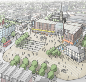 Lancashire Uni plans £200m Preston campus upgrade