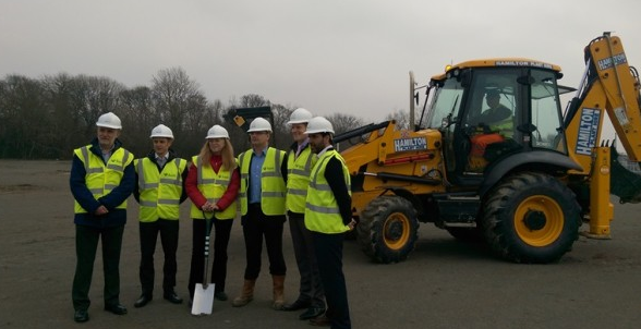 Building Work Gets Underway On Sheffield Leisure Project Swan Pr