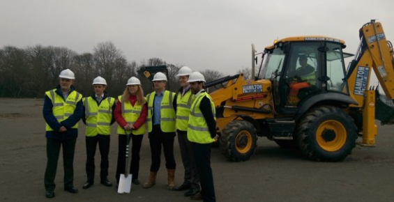 Building work gets underway on Sheffield leisure project
