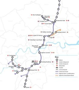 Boris backs Crossrail 2 to deliver homes and jobs for Londoners