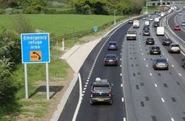 £1.5bn boost for motorways in England